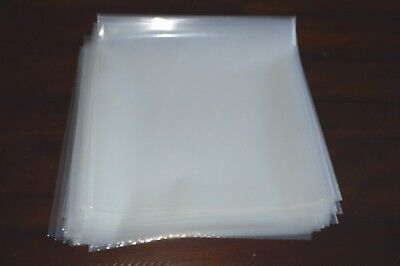 """90 Plastic LP Outer Sleeves 4 MIL Heavy-Duty Vinyl 12"""" Record Album Covers USED"""