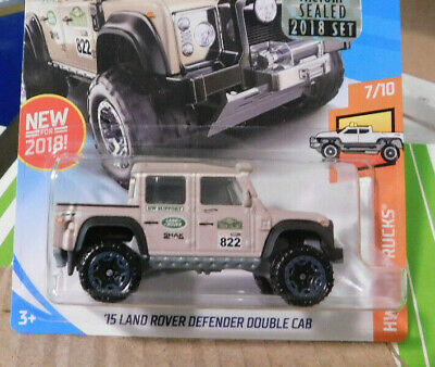 Hot Wheels 2018 /'15 Land Rover Defender Double Cab Tan