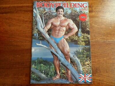 BODYBUILDING MONTHLY - OCT 1981 - Samir Bannout  cover