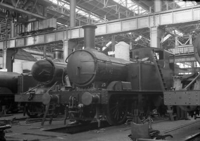 Photo  Gwr Class 48Xx Loco Under Construction At Swindon In 1932
