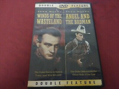 John Wayne Double Feature Winds Of The Wasteland & Angel And The Badman Dvd 1936