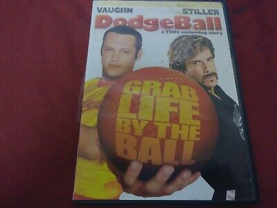 Dodgeball A True Underdog Story Comedy Dvd Movie Film Disc Red Hour Pg13 2004
