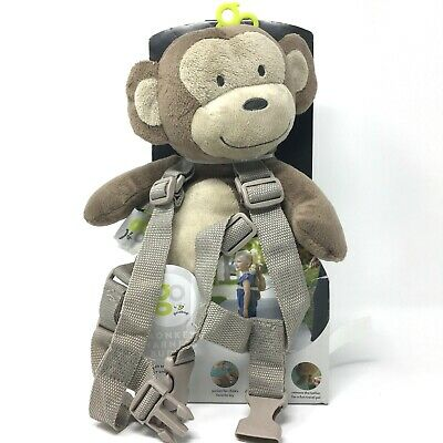 Harness Buddy Monkey Plush Backpack Child Toddler Safety Leash