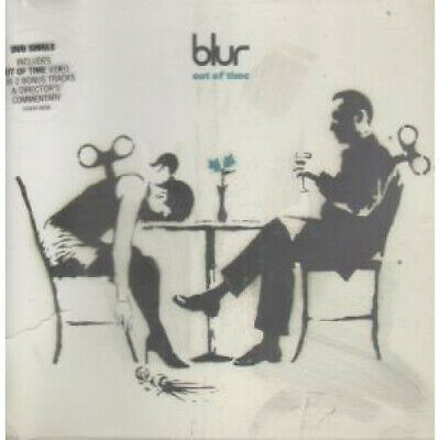BLUR Out Of Time DVD Europe Parlophone 2003 4 Track Featuring Pal Format Video