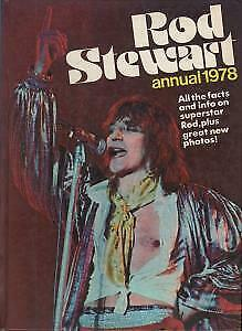 ROD STEWART Annual 1978 BOOK UK 1977 63 Page Hardback A4 Annual