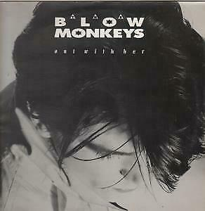 """BLOW MONKEYS Out With Her DOUBLE 12"""" VINYL UK Rca 1987 4 Track Limited Double"""