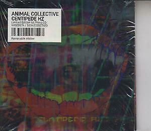 ANIMAL COLLECTIVE Centipede Hz CD Europe Domino 2012 11 Track CD In Gatefold