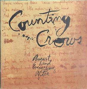 COUNTING CROWS August And Everything After CD France Geffen 1993 11 Track