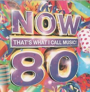 NOW THAT'S WHAT I CALL MUSIC 80 Various CD Europe Emi 2011 43 Track 2 Disc