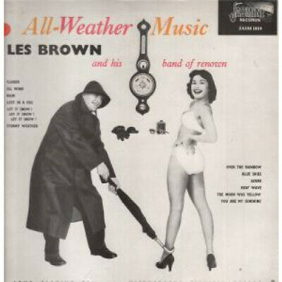 LES BROWN AND HIS BAND OF RENOWN All Weather Music LP VINYL UK Jasmine 1956 12