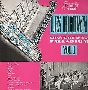 LES BROWN AND HIS BAND OF RENOWN Concert At The Hollywood Palladium VG+/EX