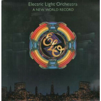 ELECTRIC LIGHT ORCHESTRA A New World Record LP VINYL UK Jet 1976 9 Track With