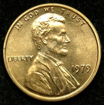 1979 Uncirculated Lincoln Memorial Cent Penny (B05)