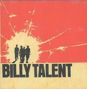 BILLY TALENT S/T CD Germany Atlantic 2003 12 Track (7567836142) Marks To Disc