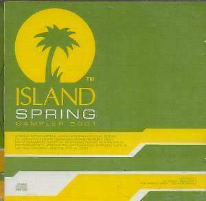 ISLAND SPRING SAMPLER Various CD Europe Island 2001 15 Track Promo Only Feat.