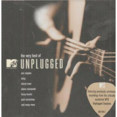 VERY BEST OF MTV UNPLUGGED Various CD Europe Universal 2002 18 Track