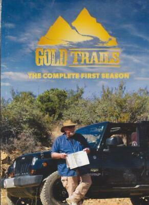 Gold Trails: The Complete First Season 1st DVD VIDEO TV SHOW gold prospecting