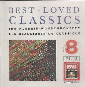 BEST LOVE CLASSICS 8 Various CD UK Emi 1988 10 Track Compilation Featuring
