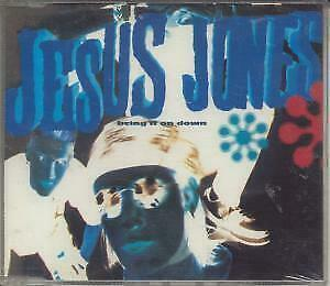 JESUS JONES Bring It On Down CD UK Food 1989 4 Track B/W None Of The EX/EX