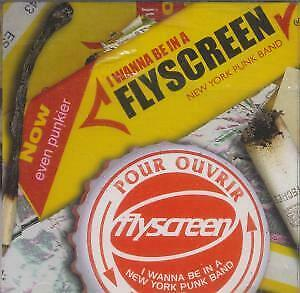 FLYSCREEN I Wanna Be In A New York Punk Band EP CD UK Mca 1997 4 Track