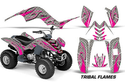 ATV Graphics Kit Quad Decal Sticker Wrap For Yamaha Raptor 80 02-08 TRIBAL P S