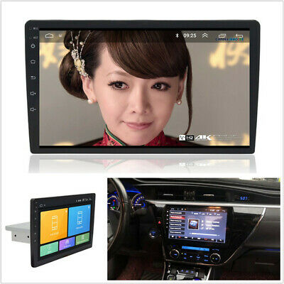 "9"" Single Din Quad-core Android 8.1 1GB+16GB Stereo Radio GPS Wifi 3G 4G BT DAB"