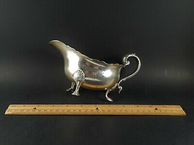 Antique Tiffany Sterling Silver Gravy Sauce Boat Charles Cook 1902 - 1907