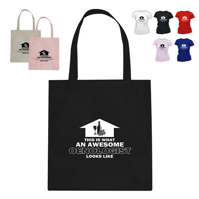 Awesome Oenologist Wine DrinkerTote Bag Gift Arrow Design