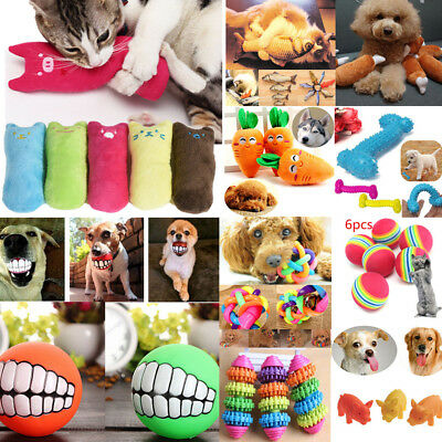 Aggressive Pet Toy for Dog Cat Chew Ball Funny Toys Tooth Grinding & Training