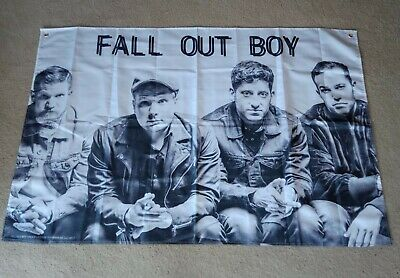 Fall Out Boy Wall Flag NEW
