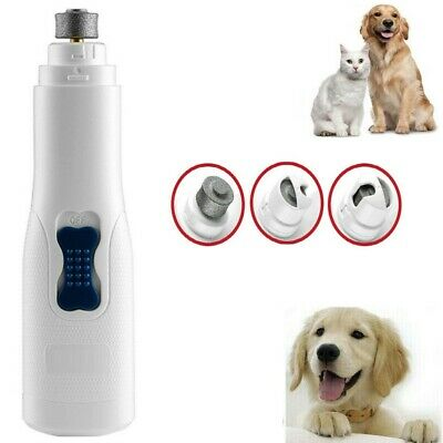 Electric Nail Trimmer Grinder Grooming Tool Care Clipper For Pet Dog Cat Paws
