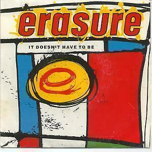 """ERASURE It Doesn't Have To Be 7"""" VINYL UK Mute 1987 B/W In The Hall Of The"""