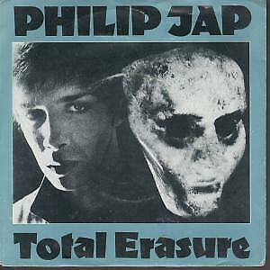 "PHILIP JAP Total Erasure 7"" VINYL UK A&M 1982 B/W Brave Lights (Jap1) Pic Sleeve"