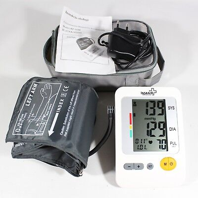 Insanix Blood Pressure Monitor BP-103H UK Fast Post