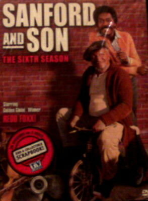 SANFORD and SON The COMPLETE SIXTH SEASON 24 Episodes+ Limited Edition Scrapbook