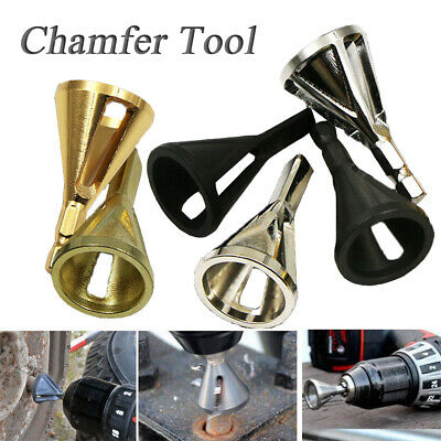 Deburring External Chamfer Stainless Steel Remove Burr Tool for Drill Bit Tools