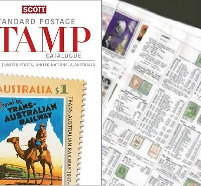 Australia Complete 2020 Scott Catalogue Pages 747-842