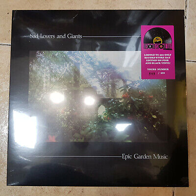 Sad Lovers And Giants ' Epic Garden Music ' Lp  Rsd 2019  Coloured And Numbered