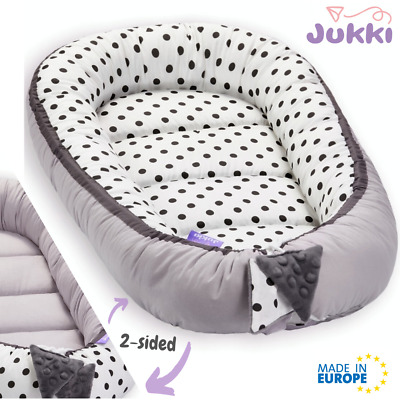 Baby Nest Bed Babynest Sleeper Co Pod Newborn Snuggle Crib Bed Toddler Cot Dots