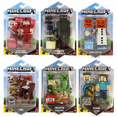 Minecraft Comic Maker 3.25-Inch Action Figures *CHOOSE YOUR FAVOURITE*