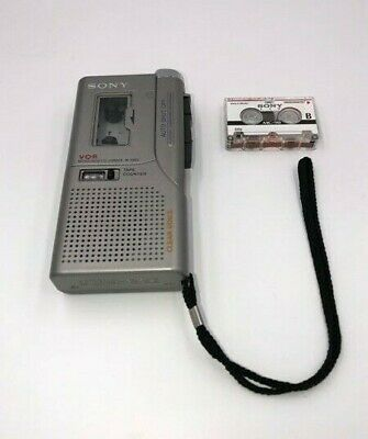 Musical Instruments & Gear Sony Voice Microcassette Recorder M-570v Clear Voice Plus & Vor Punctual Timing Audio/midi Interfaces