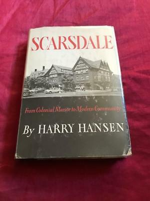 Rare 1954 1St Ed. History Of Scarsdale New York Ny Vintage Illustrations