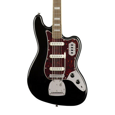Fender Squier Classic Vibe 6 String Bass VI, Black (NEW)