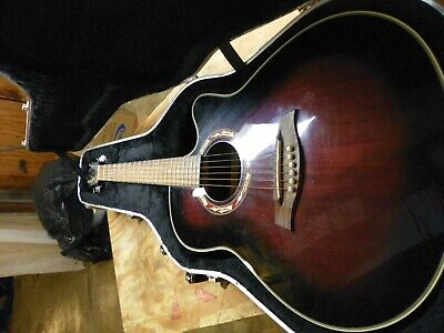 IBANEZ AW54OPN AW Artwood Acoustic Guitar w/ Pro Setup + New Strings