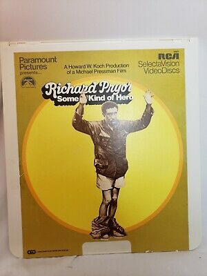 Some Kind Of Hero Richard Pryor CED capacitance electronic disc system CED