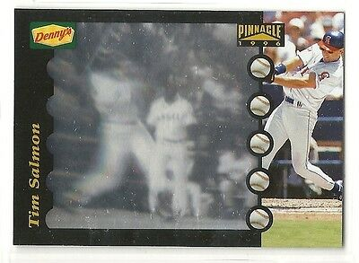 1996 Pinnacle Dennys Hologram Baseball Pick 10 Cards To Complete