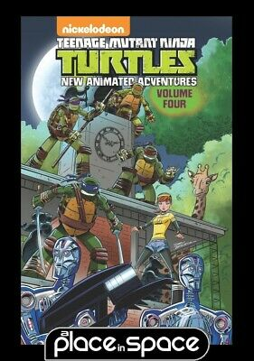 Tmnt New Animated Adventures Vol 04 - Softcover