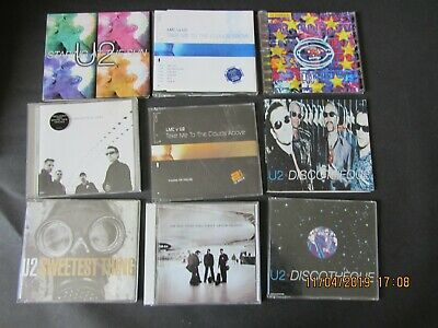 u2 cd bundle job lot