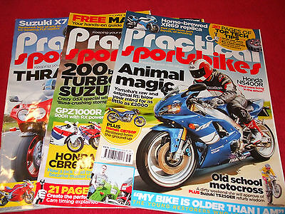 Practical sportsbikes magazines April/May/June 2015