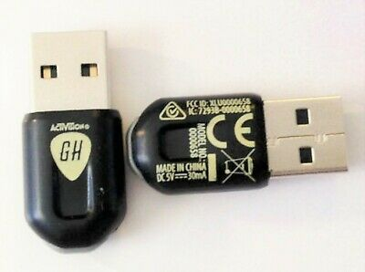 Guitar Hero LIVE Guitar USB DONGLE for PS3 and WiiU wireless receiver adapter